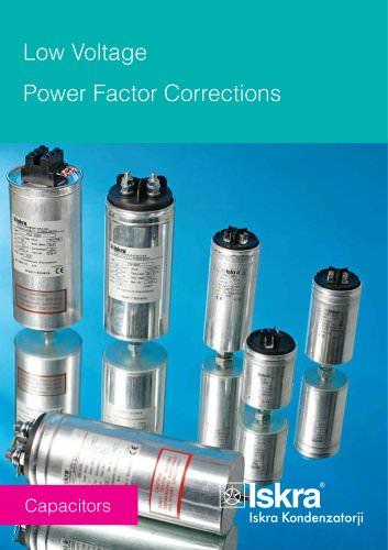 Low-voltage power-factor correction capacitors