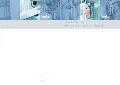 Flyer Hygienic Processing Pharma