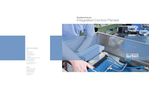 Kompetenz-Folder USA: Integrated Control Panels_EN