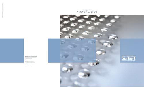 MicroFluidics Brochure