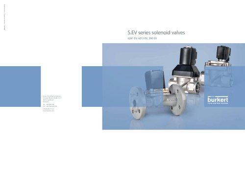 S.EV series solenoid valves