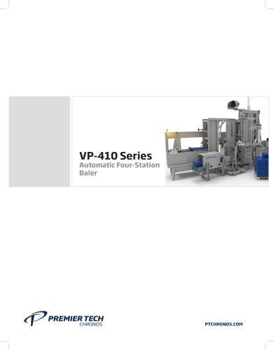VP-410 SERIES Automatic Four-Station Baler