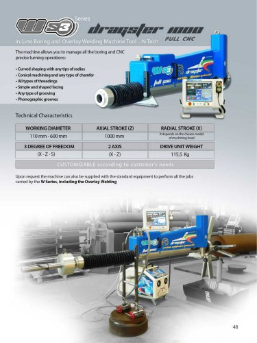 WS3 DRAGSTER 1000 FULL CNC