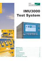 IMU3000 Test System