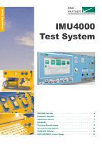 IMU4000 - Modular Immunity Test System - Ready for the Future