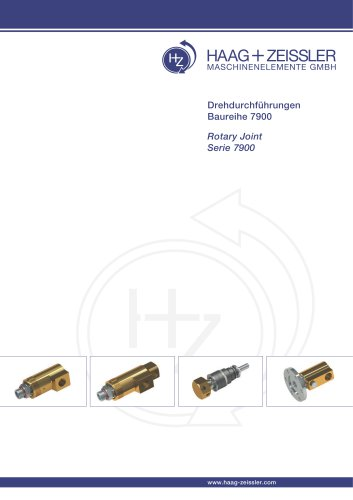 Rotary joint series 7900