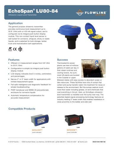EchoSpan® LU80-84