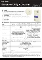 Aecl Gas Detector (LNG, LPG, CO)