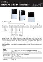 Aecl Indoor Air Quality Transmitter (AVC-M, CO2, CO, HCHO, O2, NH3, TVOC, PM2.5, PM10, RH, Temperature)