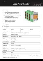 Aecl Loop Power Isolator (ALS, Signal Converter, DIN rail)