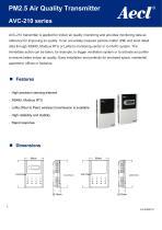 Aecl PM2.5 Transmitter (PM2.5 sensor) AVC-210