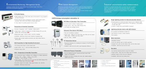 Aecl Product Catalogue