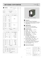 Aecl Signal Converter ( AT-740 RV RVZ DIN rail)