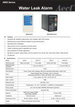 Aecl Water Leak Alarm (Wall-mount, Rail-rack mount)