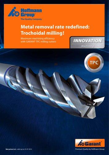 EN TPC milling cutters