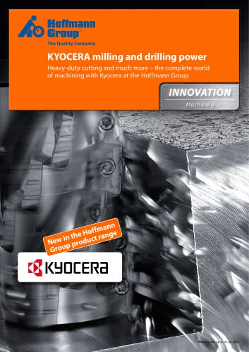 Kyocera milling and drilling power