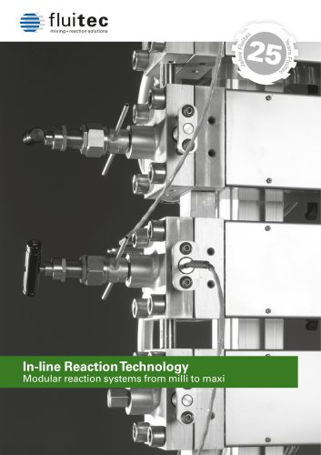 Fluitec In-line Reaction Technology 2018