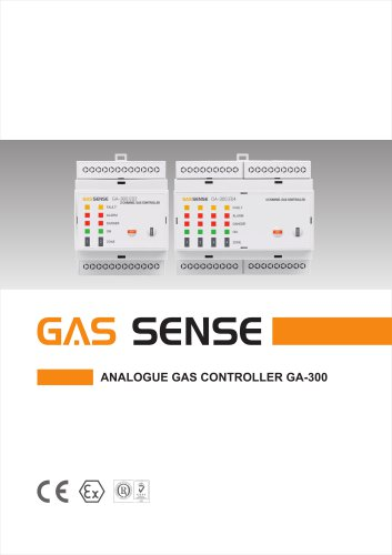 Analogue gas controllers GA-300