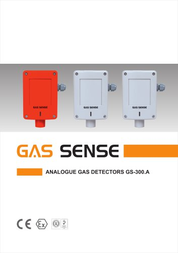 Analogue gas detectors GS-300.A