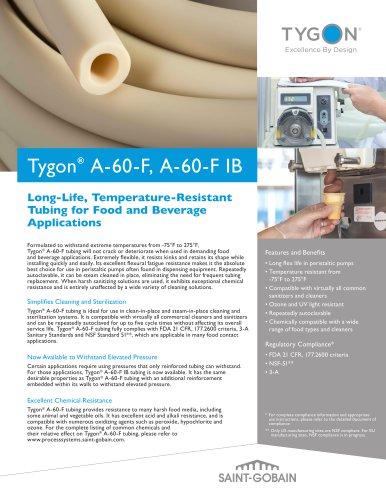 Tygon® A-60-F & A-60-F IB