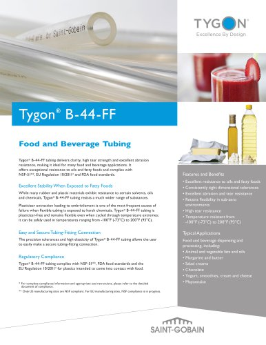 Tygon® B-44-FF