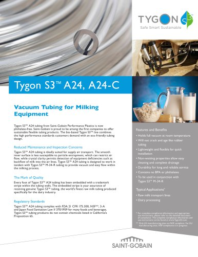 Tygon S3™ A24 &  S3™ A24-C