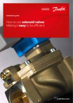 How to use - Solenoid valves