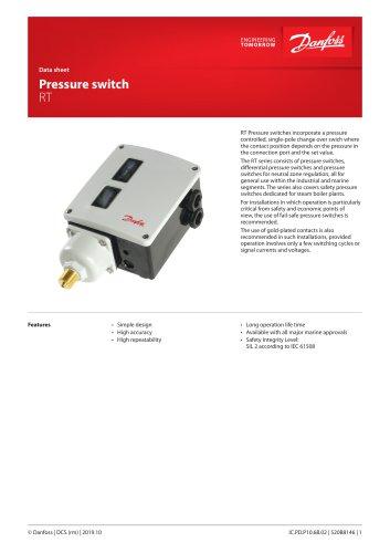 Pressure switch RT