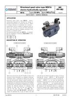 Directional spool valve type WEH16