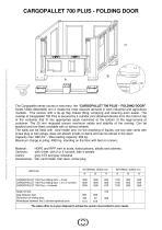 700 Plus folding door