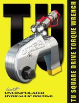 Hydraulic Torque Wrench - TU Series