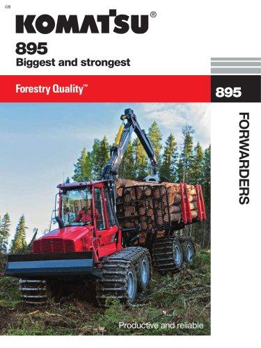 Komatsu 895 - KOMATSU Forest - PDF Catalogs | Technical