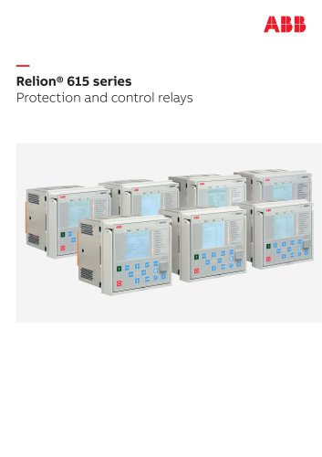 Relion® 615 series Protection and control relays