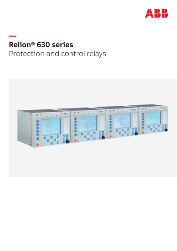 Relion® 630 series Protection and control relays
