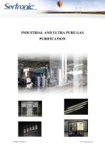 INDUSTRIAL AND ULTRA PURE GAS PURIFICATION - 1