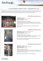 INDUSTRIAL AND ULTRA PURE GAS PURIFICATION - 2
