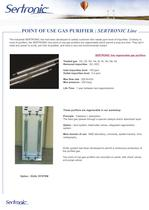 INDUSTRIAL AND ULTRA PURE GAS PURIFICATION - 6