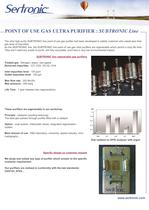 INDUSTRIAL AND ULTRA PURE GAS PURIFICATION - 7