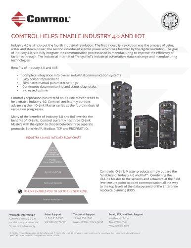 COMTROL HELPS ENABLE INDUSTRY 4.0 AND IIOT
