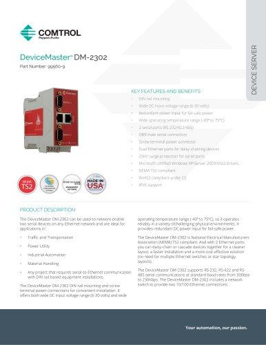 DeviceMaster® DM-2302