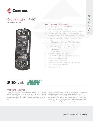 IO-Link Master 4-PNIO
