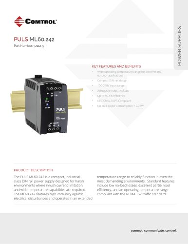 Puls-Power-Supply-LT1484A-1
