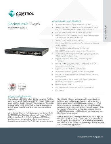 RocketLinx® ES7528