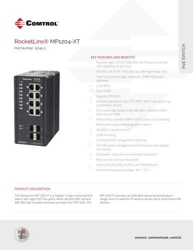 RocketLinx® MP1204-XT