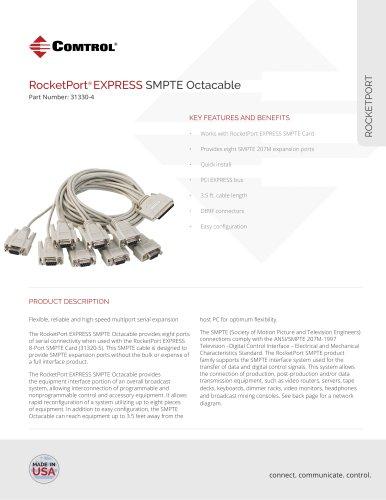 RocketPort ® EXPRESS SMPTE Octacable