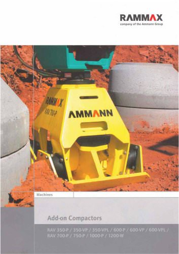 Add-on plate compactor