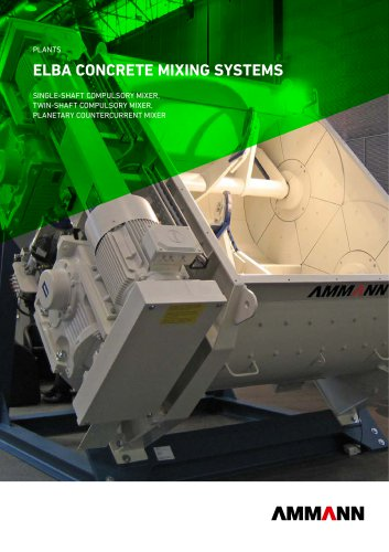 CONCRETE MIXING SYSTEMS