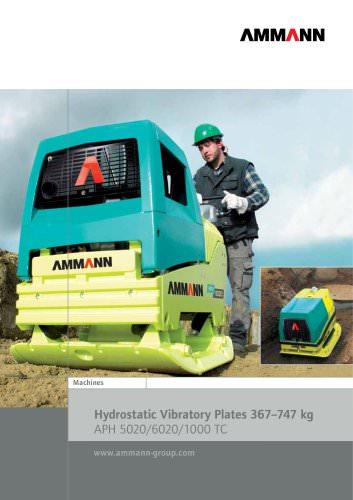 Hydrostatic Vibratory Plates 367?747 kg APH 5020/6020/1000 TC
