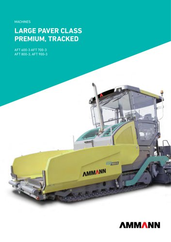 large paver class Premium, Tracked