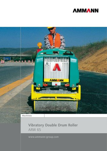 Vibratory Double Roller ARW 65
